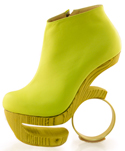 Coco Boot - Neon Yellow