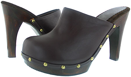 Dana Platform - Brown Leather