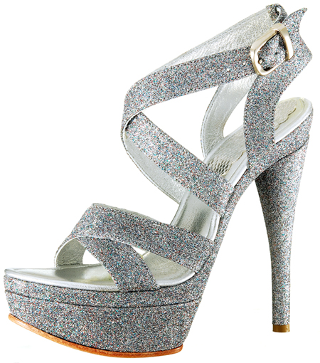 Brook Platform - Multi AB Glitter