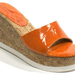 Fiesta Platform - Orange Washed Patent