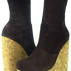 Beka Boot - Brown Suede