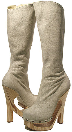 Ronda Shankless Boot - Antique Bone