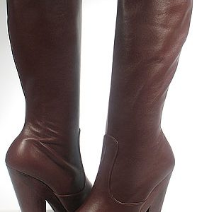 Nanette Boot - Brown Leather