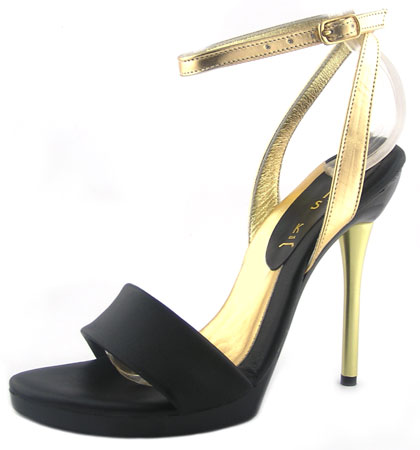 Carmen Heel - Black / Gold