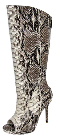 Monica Boot - Python Snake (Natural)