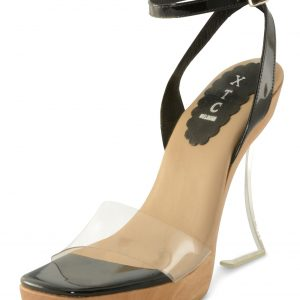 Carmen Wedge - Black Patent