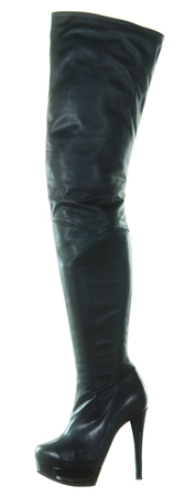 Gabana II Boot - Black Leather