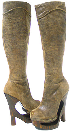 Daria Boot - Antique Brown