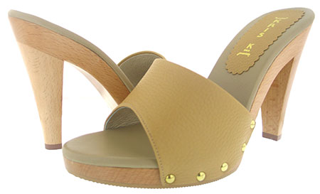 Candy Heel - Camel Round Toe