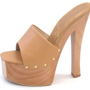 Candy Platform - Camel Leather