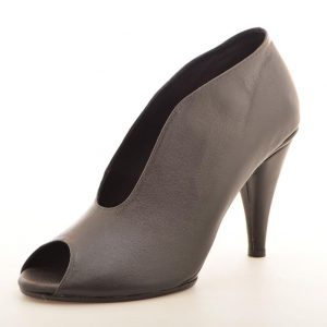 Magic Heel - Black Leather