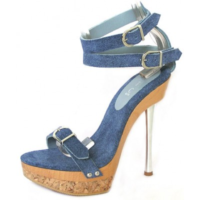 Branda Platform Denim - Design Your Own Shoe